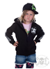 eXc Kids Your Name Zip Hoodie, Svart