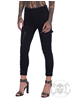 eXc Black Zipped Cargo Pants