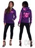 eXc E A F Logo Hoodie Purple N Pink