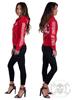 eXc E A F Logo Hoodie Red/White