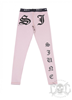 Sixth June Gothic Leggings Stone Pink
