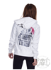 eXc Queen Dont Compete Hoodie, Vit