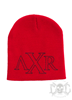 Xzavier Winged Beanie, Red
