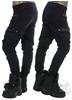 eXc Baggy Cargo Pants, Black