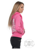 eXc Don´t Compete Zip Hoodie, Baby Pink