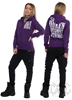 eXc Don´t Compete Zip Hoodie, Lila