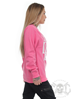 eXc S O Braaap Unisex Sweatshirt, Baby pink
