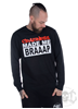eXc CRAZINESS UNISEX SWEATSHIRT, BLACK SMOKE