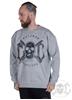 eXc Skull Sweatshirt, Grey
