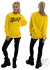 eXc Braaap Sweatshirt, Yellow