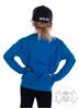 eXc Craziness Kids Sweatshirt, Sapphire Blue