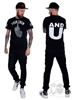 eXc Your Crew Men Tee, Black