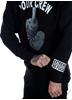 eXc Your Crew Unisex Sweatshirt, Black