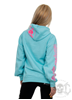 eXc E A F Pink Hoodie, Surf Ocean