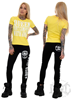 eXc Don´t Compete Women Tee, Yellow