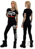 Rebel For Life Defend Your Family Women Tee, Black