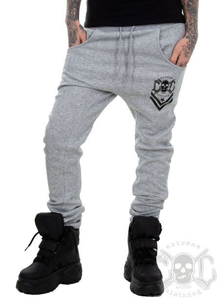 eXc New Logo Sweatpants Unisex, Grey