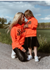 eXc eXtremeclothing Kids Sweatshirt, Neon Orange