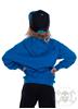 eXc Craziness Unisex Kidz Hoodie, Sapphire Blue