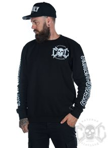 eXc E A F Your Name Biker Unisex Sweatshirt, Black
