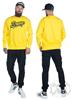 eXc Braaap Unisex Sweatshirt, Yellow
