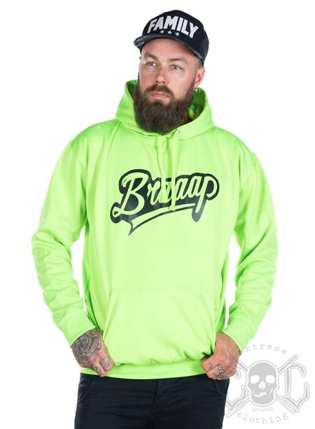 eXc Braaap Unisex Hoodie, Neon Green
