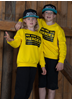 eXc We Are All Heroes Unisex Kidz Sweatshirt, Yellow