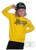eXc Braaap Unisex Kidz Sweatshirt, Yellow