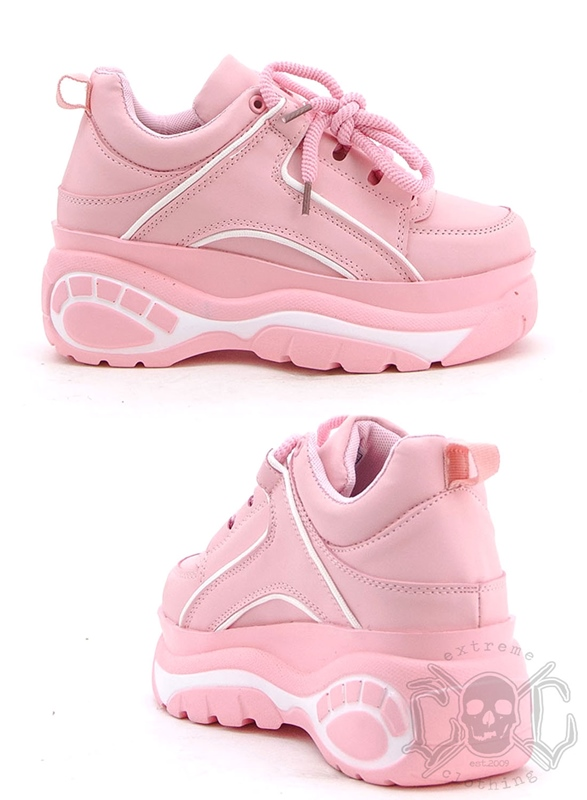 Mix From Italy Pink Platform Shoe