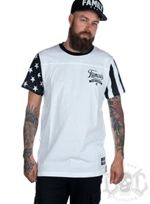 Famous Stars And Straps Stars And Stripes Tee, White
