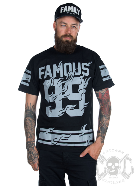 Famous Stars And Straps Blazin Men Tee