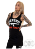 Rebel For Life Defend Your Family Long Stretch Tank