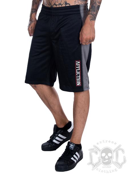 Affliction Affliction Shorts, Svarta