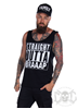 eXc S O Braaap Men Tank, Black