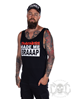 eXc Craziness Made Me Braaap Men Tank, Black