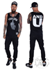 eXc Your Crew Men Tank, Black