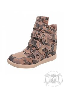 High Sneaksers in Pink Camo