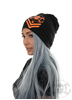 eXc New logo Beanie, Black N Orange