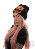 eXc Moto Club Beanie, Black N Orange
