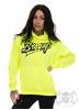 eXc Braaap Unisex Hoodie, Neon Yellow