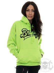 eXc Braaap Unisex Hoodie, Neon Green - (S)