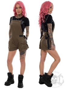 Mix From Italy Dungaree Jumpsuit