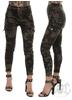 eXc Short Zipped Cargo Camo Pants