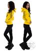 eXc E A F Hoodie, Yellow N Black