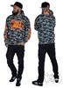 eXc E A F Snowcamo Orange Hoodie Unisex