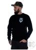 eXc Logo Sweatshirt Unisex, Black/White