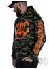 eXc E A F Camo Hoodie UniSex, Orange