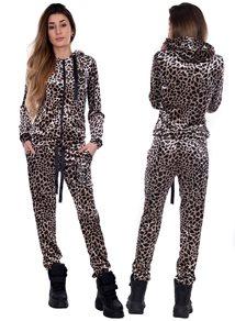 eXc Sweat Dress Leopard