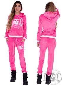 eXc Sweat Dress Pink N White