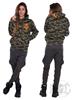 eXc Skull Camo Hoodie UniSex, Orange
